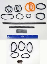 LEGO Various Treads & Chain Links for Tanks Tractors Space Vehicles etc.