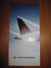 AIR CANADA Flyer Prospekt Airways Airlines