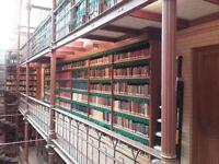 Reliures livres anciens CUIR pour décoration intérieur/vitrine/cinema