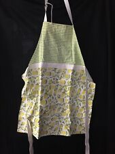NEW Cynthia Rowley Apron 🍋LEMONS 🍋& Two Towels One Size Fits Cooking
