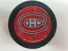 Montreal Canadiens Puck Men's Ice Hockey Black Glossy Dome NHL
