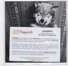 (GF371) Lolawolf, What Love Is - 2015 DJ CD
