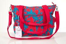 Kipling Ory Funky Flow Premium Large Zip Top Handbag with Detachable Strap BNWT