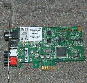 Hauppauge WinTV-HVR-1200 DVB-T Multi-PAL PCIe TV card HP 5188-8943 71949 LF WORK