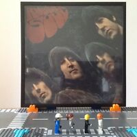 The Beatles Rubber Soul Loud Cut -1/-1 PMC1267 VG-/VG- In Wall Frame Great Gift