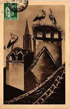CPA Phalsbourg - Nid de Cigogne (474481)