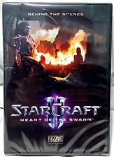 Starcraft 2 Heart of the Swarm Collectors Edition Behind the Scenes DVD! Sealed!
