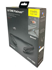 LG HBS-1125 Tone Platinum+ Wireless Bluetooth Headset - Black