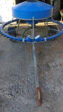 50 Calf mobile feeder Trailer good condition  on flotation wheels tows lovely