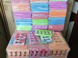 100 pairs ( 200 pcs) Spa Pedicure Soft Foam toe separator individual warp