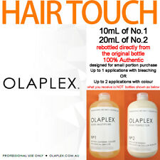 OLAPLEX RE-BOTTLED 10mL NO.1 + 20mL NO.2 100% AUTHENTIC for small portion