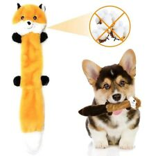 Raccoon Paws Skinny Pet Stuffing Squeaky Plush Dog Toys Molar Teeth Cleaning