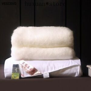 100% Natural Silk Quilt Mulberry Winter Jacquard Blanket Queen King Size Warm @