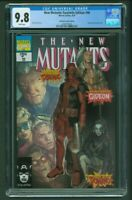 New Mutants Facsimile Edition #98 CGC 9.8 Unknown Comics Edition Parel Variant