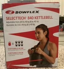 Bowflex SelectTech 840 Adjustable Kettlebell (8 - 40 LB) 🚚 SHIPS SAME DAY 🚚