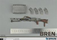 ZYTOYS 1/6 Scale Bren Light Machine Gun Model Fit 12'' Action Figures
