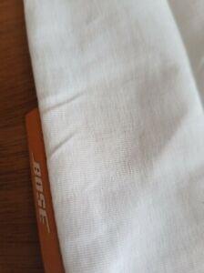 "New Genuine Bose White Drawstring Bag 12.5"" x 7.25"""