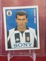 Zinedine Zidane Juventus Calciatori Calcio 1998/99 Merlin Sticker