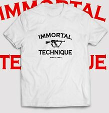 Tshirt 2021 New Immortal Technique 1492 Casual Many Color Choice Buy Here Guys!!