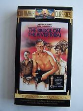 The Bridge on the River Kwai Vhs Columbia Classics