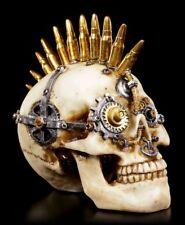 Steampunk Totenkopf - Gears of War klein - Deko Figur Schädel Skull