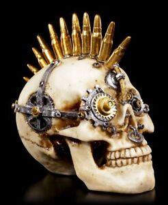 Steampunk Tête de Mort - Gears De War Petit - Déco Figurine Crâne