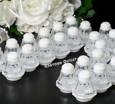 "24 SALT & PEPPER SHAKERS BAUTIZO WEDDING PARTY FAVORS WHITE 2"" COMMUNION SALEROS"
