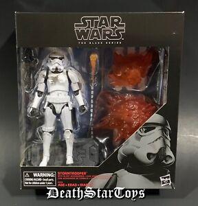"Star Wars Black Series 6"" inch Deluxe Stormtrooper with Blast Accessories Empire"