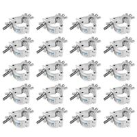 1.5 InchTruss O Clamp Heavy Duty Load 220lb Stage DJ Lighting Hook Mount 20Pack