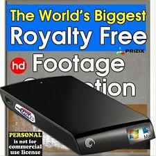 Huge HD Royalty Free Stock Video Footage - Personal