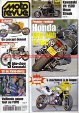 MOTO REVUE 3496 DUCATI 600 Monster HONDA VFR 800 KAWASAKI VN 1500 Bercy 2001