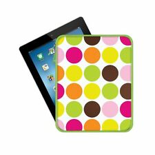 iPad Cover Sleeve Case All iPads Macbeth GUMBALL Dot Zippered NWT