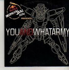 (CM478) You And What Army, 4 track sampler - 2010 DJ CD