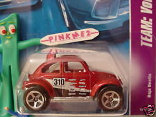 2008 Hot Wheels VW VOLKSWAGEN BAJA BEETLE #131✿ red bug