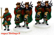 Dept. 56 XII Days of Dickens Ten Pipers Piping Set of 3 Retired 58386