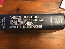 Mechanical and Electrical Equipment for Buildings 8th Edition by Stein/Reynolds