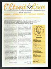 L'Etroit Lien N°8 - Septembre 2004 - Spécial Rite Ecossais Rectifié - GLTSO
