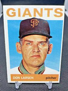 1964 Topps Set Break # 513 Don Larsen - San Francisco Giants