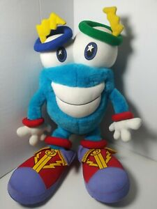 "IZZY Olympic Mascot Stuffed Plush by Whatizit 1996 Atlanta Souvenir 13"" EUC"