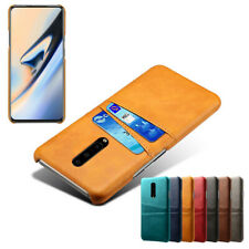 For OnePlus 8 7T 7 Pro 6T 6 5T 5 Case Luxury Leather Back Card Slot Wallet Cover