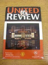 08/11/2000 Manchester United v Dynamo Kiev [UEFA Champions League] (slight creas