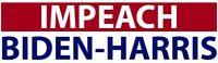 IMPEACH BIDEN - HARRIS  BUMPER STICKER!!