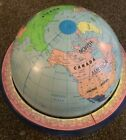 """The 16"""" Discovery Political Globe by George F Cram Company with Horizon Ring"""