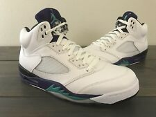 Nike Air Jordan Grape  V 5 Retro 136027 108 Size 10.5