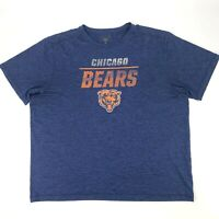 Chicago Bears Athletic Shirt Men's Size XL Short Sleeve NFL Football Sports Tee