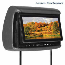 """Concept BSD-905 9"""" Headrest TFT Monitor /w 3 Covers & Built-in DVD Player BSD905"""