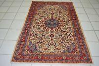 wie neu! Perser Orientteppich Saruk Sarough Sarug 200x136 Rug Carpet Tapis