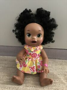 Baby Alive Baby African American Interactive 2014 Bilingual Doll