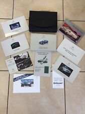 GENUINE 2002 MERCEDES BENZ C230 SPORTCOUPE C-CLASS OWNERS MANUAL USER GUIDE