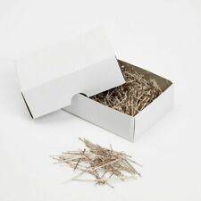 "Box of Silver Steel Pins x 3cm/1"" - 500g - Florist Wedding Corsage Craft"